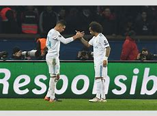 Player Ratings PSG 1 2 Real Madrid, Champions League