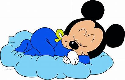 Sleeping Mickey Disney Clipart Mouse Clip Transparent