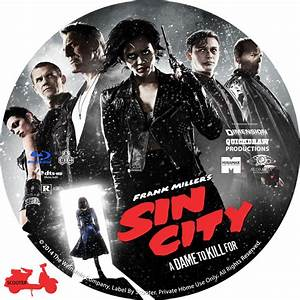 Sin City A Dame To Kill For - Custom DVD Labels - Sin City ...