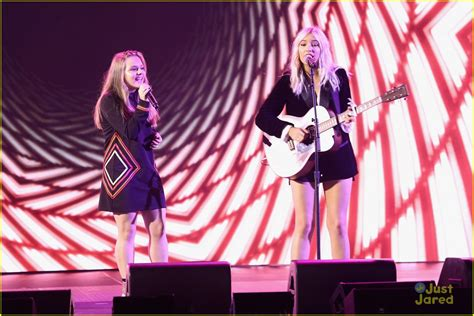 Lennon Maisy Perform At We Day Un 2017 In Nyc Photo