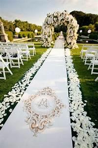 Un mariage extérieur - 25 idées de décoration