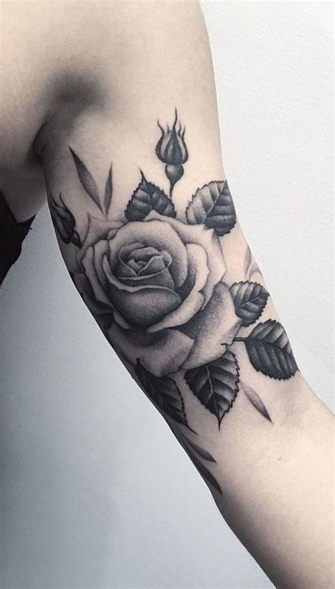 realistic flower tattoo ideas  pinterest