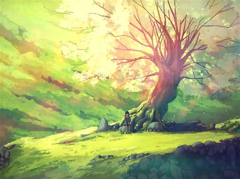 Including 3d and 2d animations. Anime Chill Green Wallpapers - Wallpaper Cave