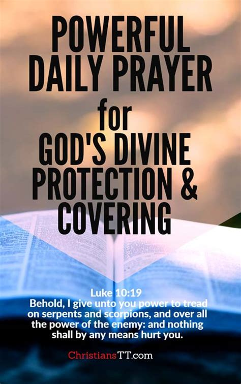 7 Powerful Daily Prayers For Gods Divine Protection And