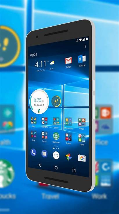 Launcher Microsoft Arrow Android Icons Phone Clintonfitch