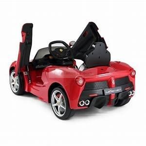 Voiture Electrique Enfant : la ferrari voiture lectrique pour enfant 12 volts rouge ~ Nature-et-papiers.com Idées de Décoration
