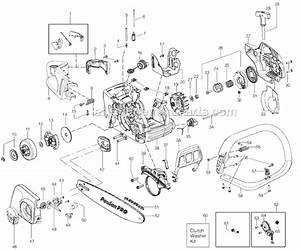 Poulan Chainsaw Fuel Line Diagram