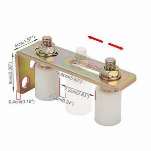 Sliding Gate Track Hardware Accessories Kit Stopper Wheels