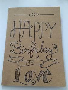 Happy Birthday Card for my Boyfriend | Handwriting ...