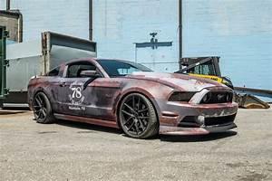 Rust Wrap Design Ford Mustang | Skepple Inc
