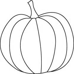 Free Printable Pumpkin Outline Template