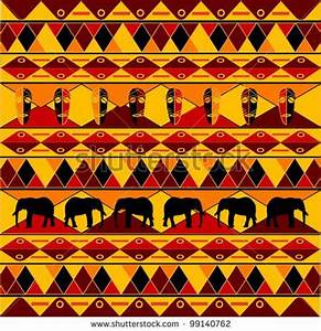 Traditional African Pattern by Laschon Maximilian, via ...