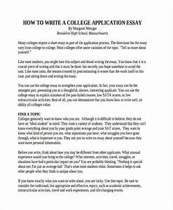 29 Examples of College Essays