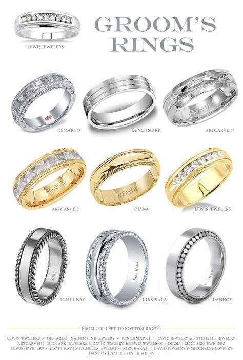 gorgeous groom s rings