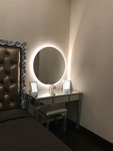 Miroir Avec Lumière Autour : miroir rond lumineux id es de d coration int rieure french decor ~ Melissatoandfro.com Idées de Décoration