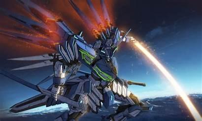 Mecha Anime Sword Vanguard Mech Laser Robot