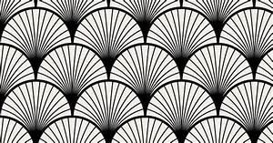 Papier Peint Repositionnable : seigaiha noir papier peint adh sif repositionnable ~ Zukunftsfamilie.com Idées de Décoration