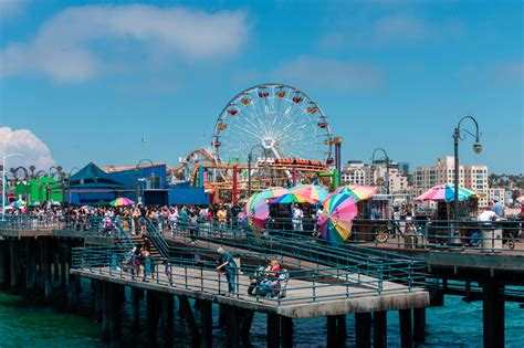 Santa monica was originally developed as a seaside retreat at the turn of the 20th century. How to Spend a Lovely Day in Santa Monica Without a Car