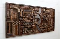 wood wall art Outstanding Reclaimed Wood Wall Art - Style Motivation