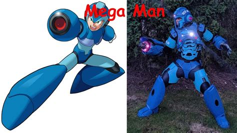 Megaman Characters In Real Life Youtube