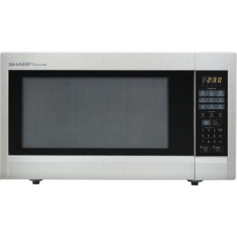Sharp Microwave Ovens Countertop by Sharp Carousel 2 2 Cu Ft 1200 Watt Countertop Microwave