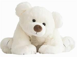 Gros Nounours En Peluche : histoire d ours peluche gros ours ecru 65 cm ~ Teatrodelosmanantiales.com Idées de Décoration
