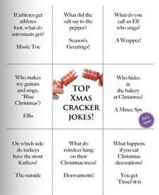 christmas cracker jokes