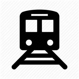 Front, train, transport, transportation, travel icon ...