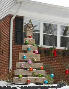 Weihnachtsdeko Für Geschäfte : weihnachtsdeko f r draussen paletten weihnachtsbaum weihnachtkugeln weihnachten ~ Sanjose-hotels-ca.com Haus und Dekorationen