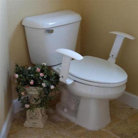 comfort arms grab bar armrests   toilet