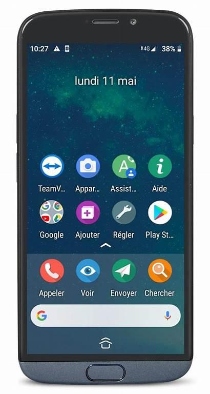 Doro Smartphone Bazile Robuste Prise Facilitee Moderne