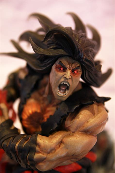 Limited Edition Evil Ryu Statue Coming By Kinetiquettes