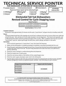 Download Free Pdf For Kitchenaid Kuds35fx Dishwasher Manual