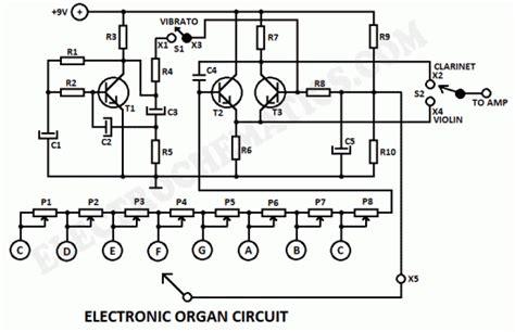 Electronic Organ Circuit