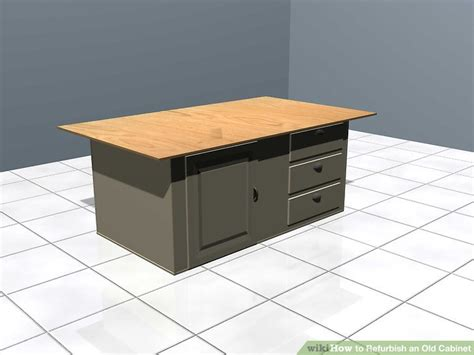 How To Refurbish An Old Cabinet 12 Steps (with Pictures