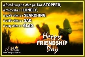 happy friendshi... Friendship Day Good Quotes