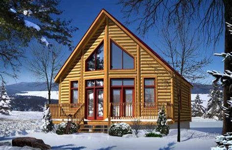 Aspen Log Home Plan By Timber Block