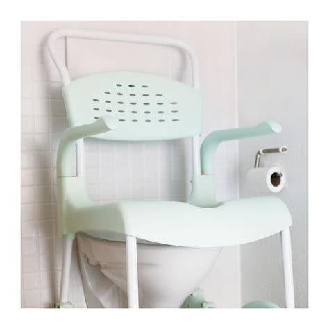 etac clean 24 mobile shower commode chair