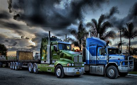 Big Truck Hd Wallpaper by 60 Absolutely Stunning Truck Wallpapers In Hd