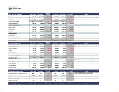 excel report template bookletemplateorg