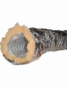 Gaine Hotte Aspirante : gaine souple alu isol e 125 pour chemin e 5 m tres ~ Premium-room.com Idées de Décoration