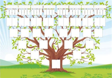 tree template print out c 1000 ideas about family tree templates on pinterest
