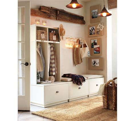 pottery barn entryway entryway storage systems simple home decoration