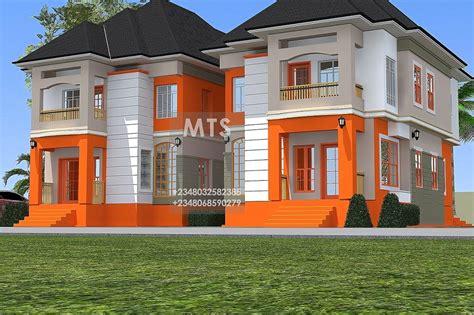 modern  contemporary nigerian building designs  patrick  bedroom twin duplex