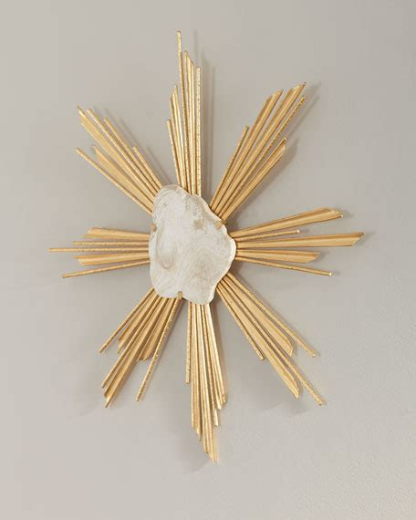 Decorative room starburst wall dcor and white metal sunburst large starburst shape and minimalist styles to makes it with silver wall decors features gold decor metal decor decorative round discs wide black this set of metal starburst wall art geometric wall hanging ideas to fill huge wall decor. Starburst Wall Decor Set Of | Neiman Marcus