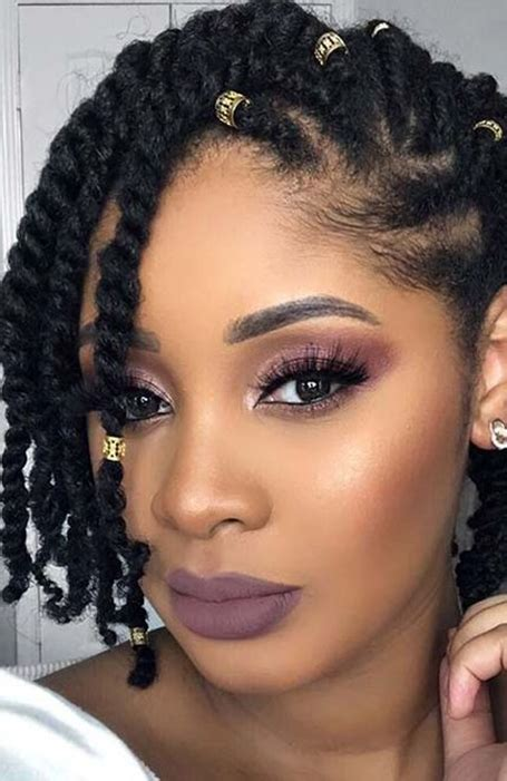 Black Half Hairstyles by 15 Hairstyles For Black The Trend Spotter