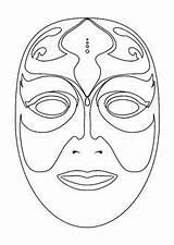 Coloring Masque Masken Mask Carnaval Printable Masks Venecia Mascaras Adult Imprimer Maschere Disegni Face Google Template Carnival Colorier Maschera Venetian sketch template
