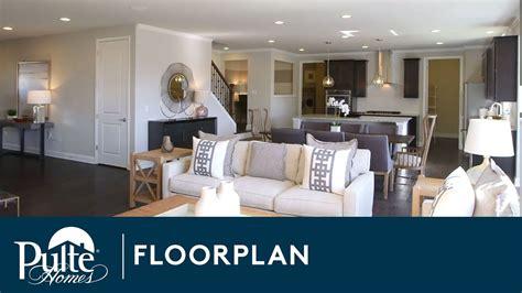 homes  pulte homes westchester floorplan youtube