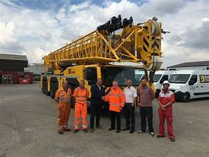 Uk U0026 39 S Rrc Crane Hire Receives Demag Ac 300