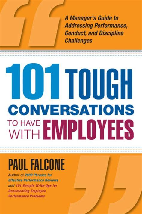 tough conversations    employees